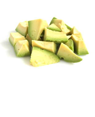 Frozen Avocado Chunks